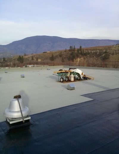 commercial roofing tourched